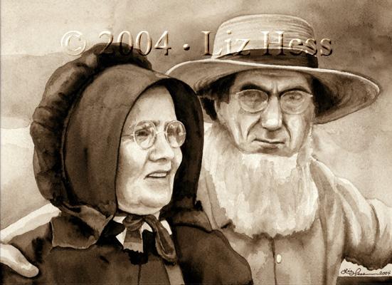 Amish Couple