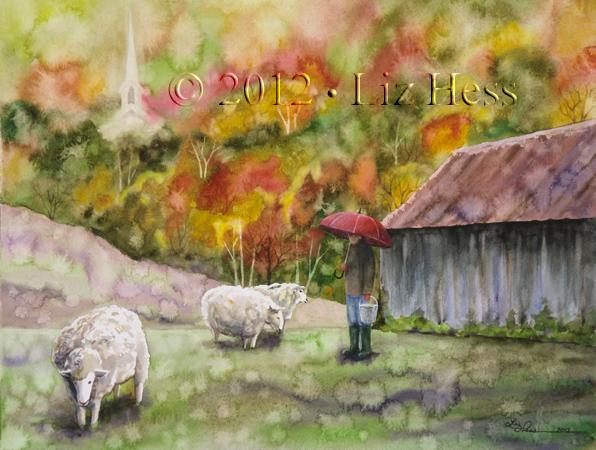 Berkshire Sheep