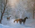 Equestrian Snow