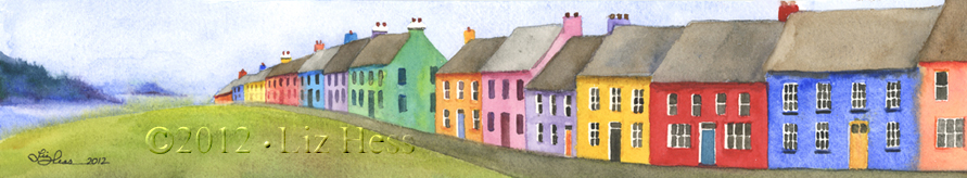 Houses On Dingle