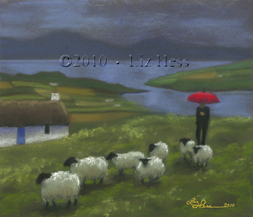 Irish Shepherd - Liz Hess Gallery