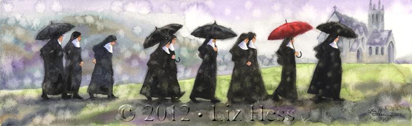 March Of The Irish Nuns