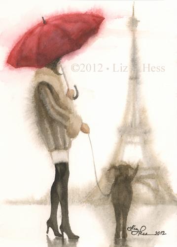Parisian Wash Study