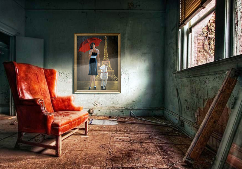 Grungy-Room-With-Art