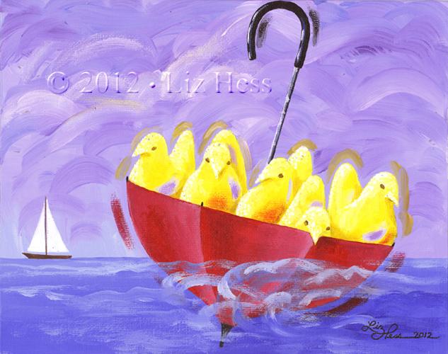 The-Peeps-Set-Sail