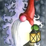 A-Gnome-&-His-Lantern