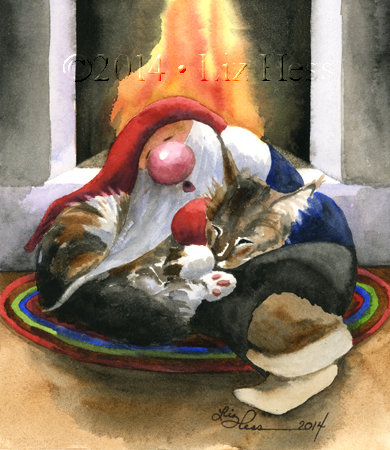 Sleeping-Gnome