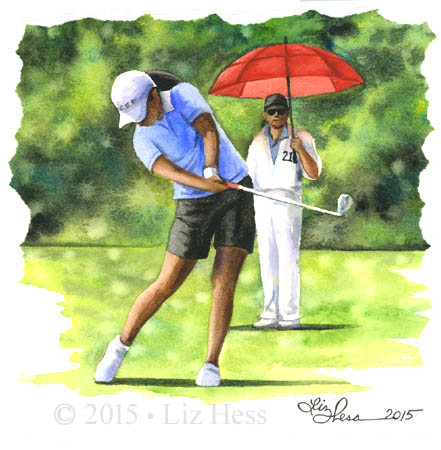 Female-Golfer