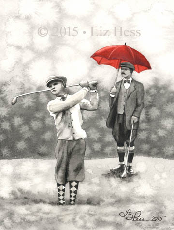 Vintage-Golfers