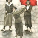 Vintage-Trio