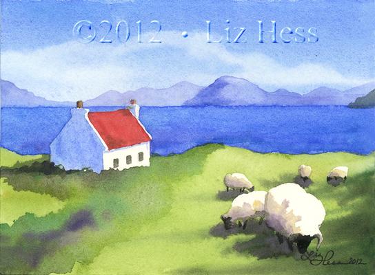 IrishCoastVignette